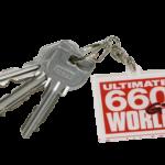 【新着商品】『ULTIMATE 660GT WORLD』ロゴキーホルダー